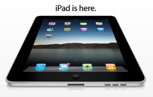 iPad is here